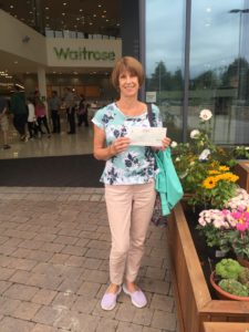 A big thank you to everyone who supported us by choosing Know Dementia via the token system when shopping at Waitrose Horsham. Sue Duggin, who applied for the grant when she was working for us, picked up the cheque for the magnificent sum of £740.