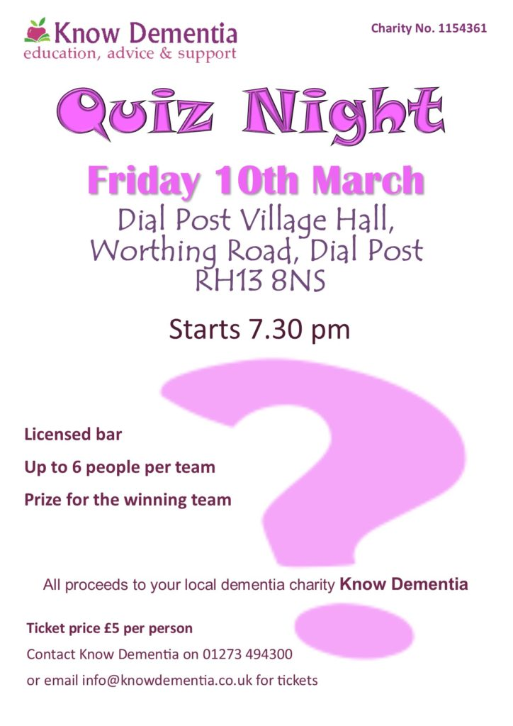 Quiz Night 2017